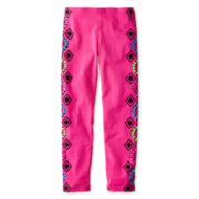 Flowers by Zoe by Kourageous Kids Aztec Leggings  - Girls 6-16
