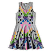 Flowers by Zoe by Kourageous Kids Aztec Tank Dress - Girls 6-16