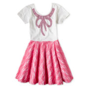 Flowers by Zoe by Kourageous Kids Lace Dress - Girls 6-16