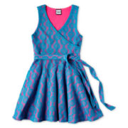 Flowers by Zoe by Kourageous Kids Wrap Dress - Girls 6-16