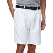 Haggar® Cool 18® No-Iron Pleated Short
