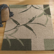 Zen Washable Square Rug