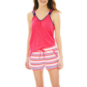 Mixit™ Tank Top and Shorts Pajama Set