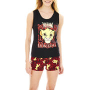 Lion King Tank Top and Boxers Pajama Set