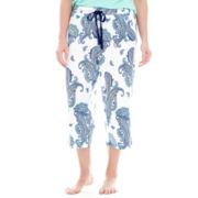 Liz Claiborne® Sleep Capris - Plus
