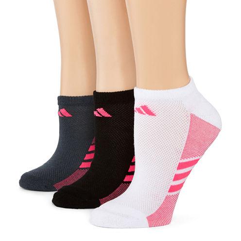 adidas® 3-pk. Superlite No-Show Socks