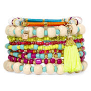 Decree® 9-pc. Bright Stretch Bracelet Set