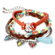 Decree® 4-pc. Friendship Bracelet Set