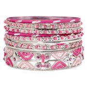 Mixit™ Pink Seed Bead 11-pc. Bracelet Set