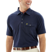 Jack Nicklaus® Solid Flap-Pocket Polo