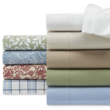 jcpenney.com | JCPenney Home™ 300tc Easy Care Sheet Set