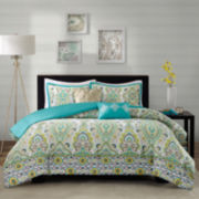 Intelligent Design Ellie Medallion Duvet Set