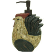 Bacova Rocky the Rooster Soap Dispenser