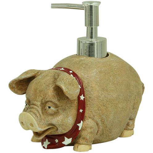 Bacova Oscar the Pig Soap Dispenser