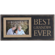 Burnes of Boston® Best Grandpa Ever Picture Frame