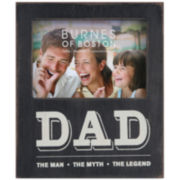 "Burnes of Boston® Dad, The Man, The Myth, The Legend 4x6"" Picture Frame"