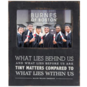 "Burnes of Boston® Graduation Sentiment 4x6"" Picture Frame"