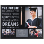 Burnes of Boston® Graduation Sentiment 4-Opening Collage Picture Frame