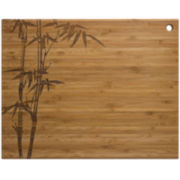 "Totally Bamboo® 14"" Bamboo Cut 'N Serve Cutting Board"
