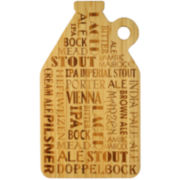 Totally Bamboo® Growler Cut 'N Serve Cutting Board
