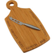 Totally Bamboo® Chubby Cheese Cutting Board