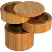 Totally Bamboo® 3-Tier Salt Box