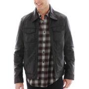 Dockers® Leather Trucker Jacket