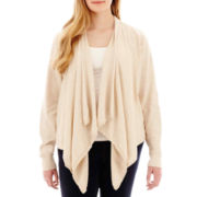 a.n.a® Flyaway Cardigan Sweater - Plus