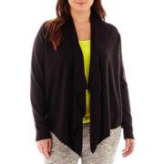 a.n.a® Long-Sleeve Flyaway Cardigan Sweater - Plus