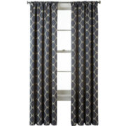 Studio™ Twist Rod-Pocket/Back-Tab Curtain Panel