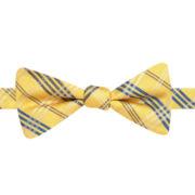 Stafford® Spartenburg Plaid Pre-Tied Bow Tie