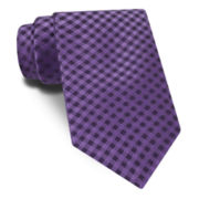 Stafford® Gingham Silk Tie