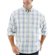 Dockers® Long-Sleeve Chambray Shirt–Big & Tall
