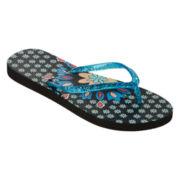 Mixit™ Printed Zori Flip Flops