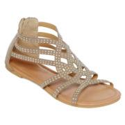 Mixit™ Rhinestone Gladiator Sandals