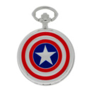 Marvel® Captain America Mens Pocket Watch