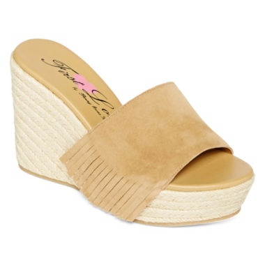 jcpenney.com | First Love Nest Fringe Rope Wedges