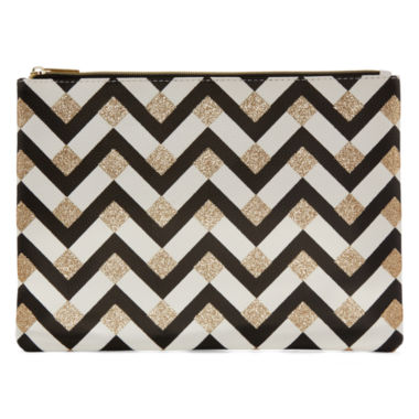 jcpenney.com | Worthington® Yellow Chevron Pouch Wallet