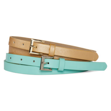 jcpenney.com | Mixit™ 2 Pack Skinny Belt