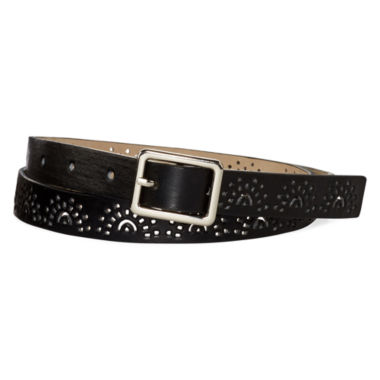 jcpenney.com | Liz Claiborne® Faux-Leather Dress Belt
