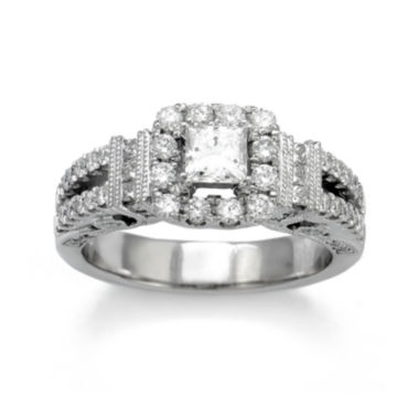 jcpenney.com | LIMITED QUANTITIES 1? CT. T.W. Diamond 14K White Gold Engagement Ring