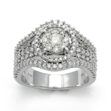 jcpenney.com | LIMITED QUANTITIES 1¾ CT. T.W. Diamond 14K White Gold Engagement Ring