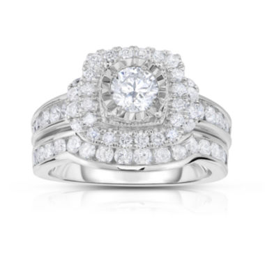 jcpenney.com | True Love, Celebrate Romance® 2 CT. T.W. Diamond 14K White Gold Bridal Set