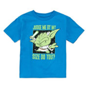 Short-Sleeve Yoda Graphic Tee - Toddler Boys 2t-5t