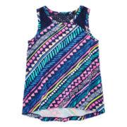 Arizona Lace Inset Tank Top - Toddler Girls 2t-5t
