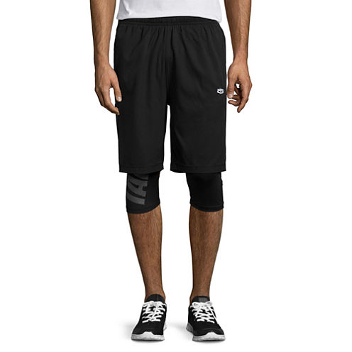 Tapout 2 In 1 Compression Shorts