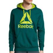 Reebok® Brushed Pullover Hoodie
