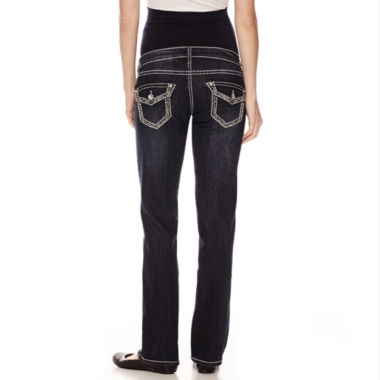 jcpenney.com | Tala Overbelly Bling-Pocket Bootcut Jeans