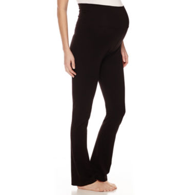 jcpenney.com | Maternity Overbelly Yoga Pants-Plus