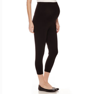 jcpenney.com | Maternity Overbelly Cropped Leggings